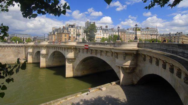 Pont-Neuf, en París.