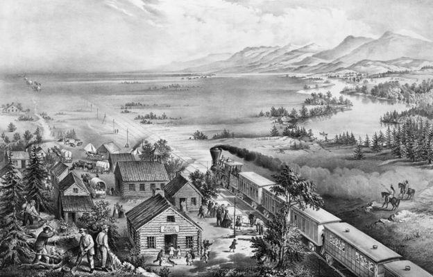 بنهاية الحرب الأهلية عام 1865، تمت الموافقة القانونية على نحو 15 ألف طلب لتملك مزارع.
