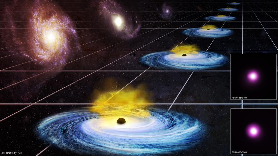 Так ефект темної енергії зображують в НАСА