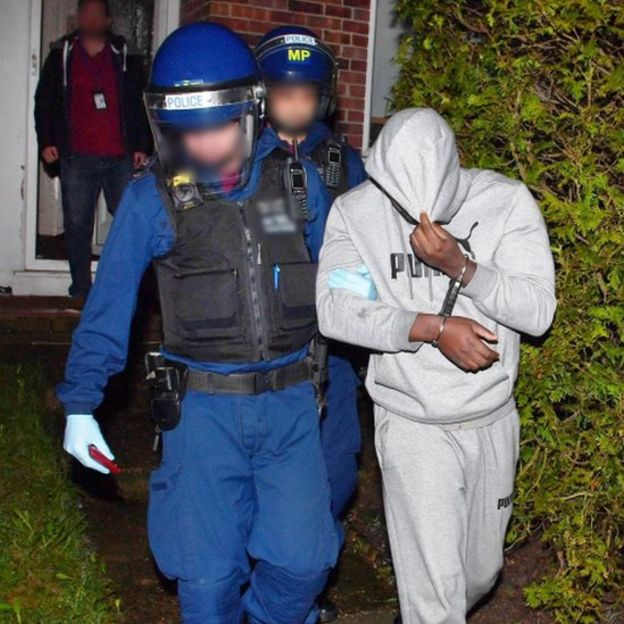 west london police raids