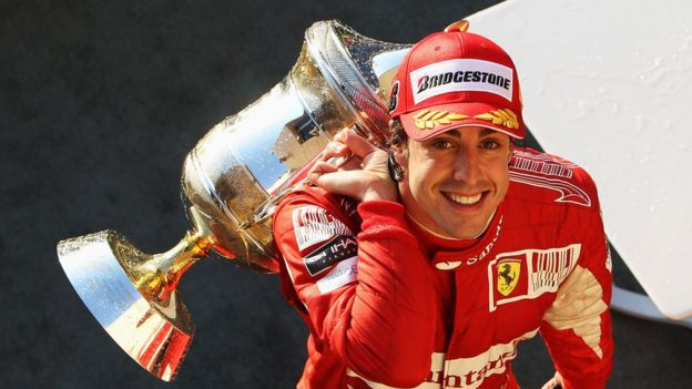 Fernando Alonso con Ferrari
