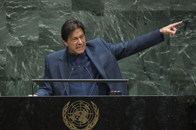 عمران خان در مجمع عمومی سازمان ملل متحد