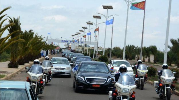 Soo dhoweynta wafdiga Farmaajo ee Asmara