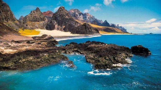 Ilha de Trindade, no Espírito Santo