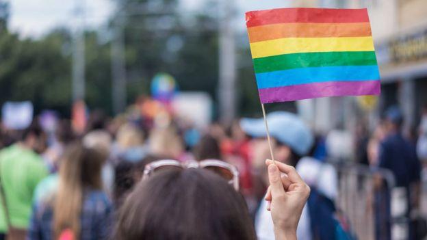 Heterosexual y gay