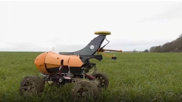 tarımda kullanılan robot