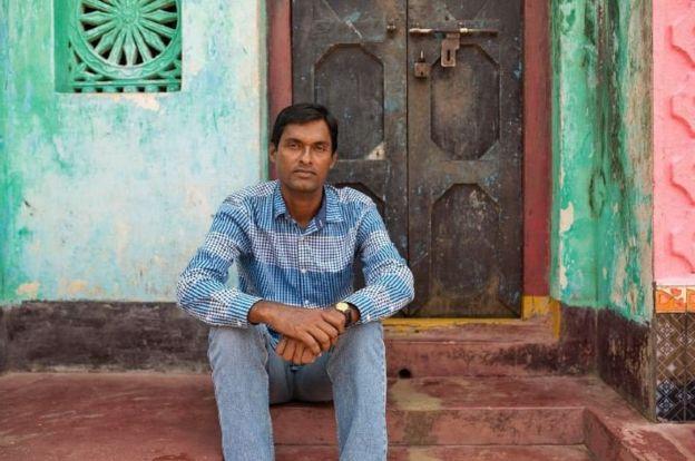 Rabindranath Sahu, 36, has been saving turtles since his teens