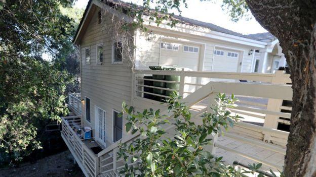 La casa está situada en el número 114 de Lucille Way, en Orinda.