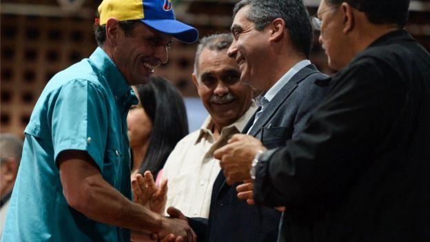 Henrique Capriles y Rodríguez Torres.