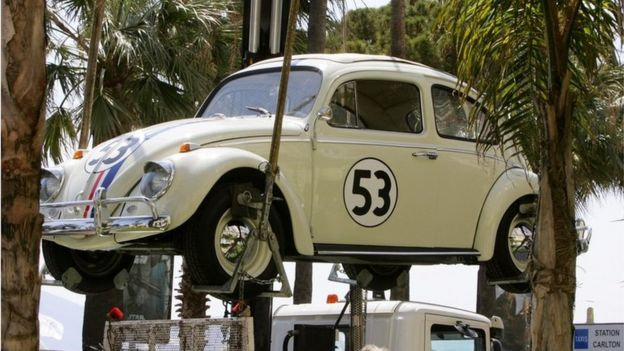 Herbie on display at the Cannes Film Festival 2005