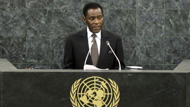 Obiang en la ONU
