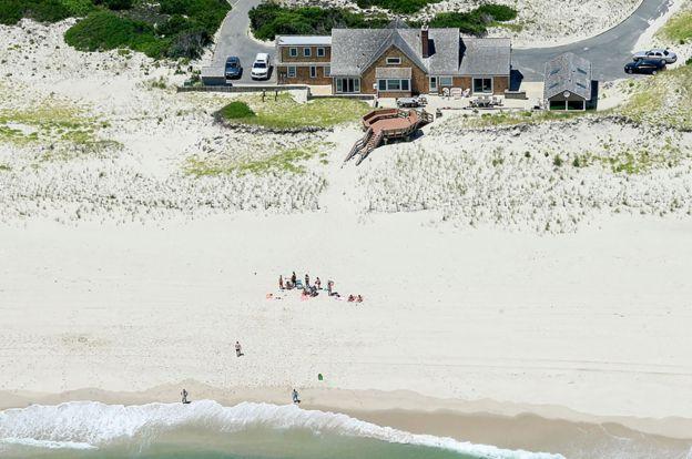 Christie on the beach