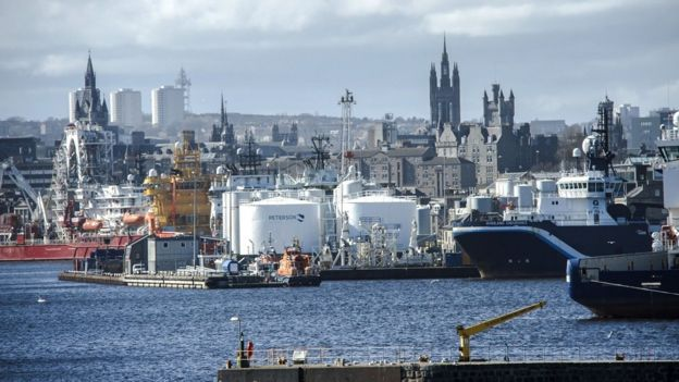 Call for deal to protect North Sea oil and gas sector - BBC News