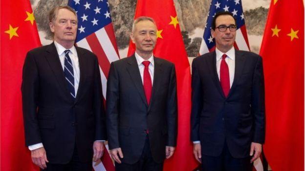 Giời chức Mỹ và Trung Quốc
