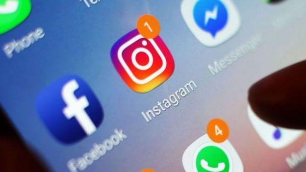 Logo de Instagram y Facebook