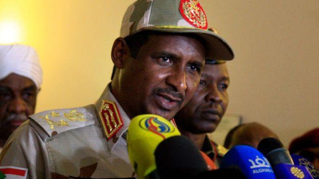 """Lt-Gen Mohamed Hamdan """"Hemeti"""" Dagolo"""