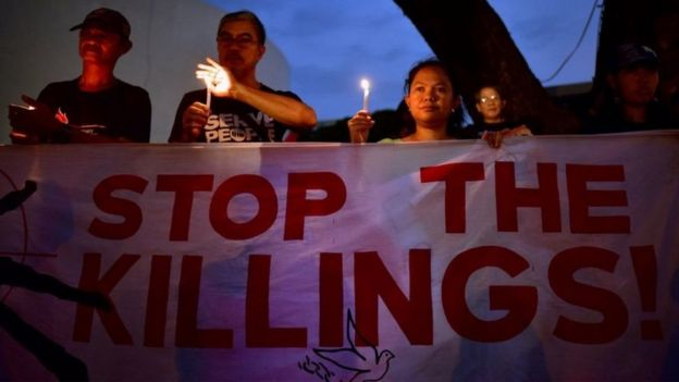 การทำสงครามกับยาเสพติดของรัฐบาลฟิลิปปินส์ ถูกนานาชาติวิจารณ์