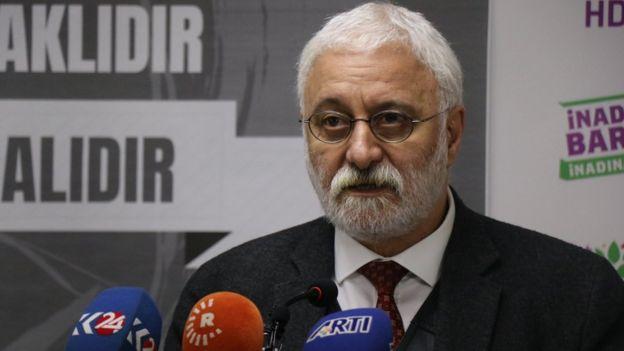 HDP Grup Başkanvekili ve İstanbul Milletvekili Saruhan Oluç