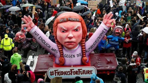 Greta Thunberg maketi