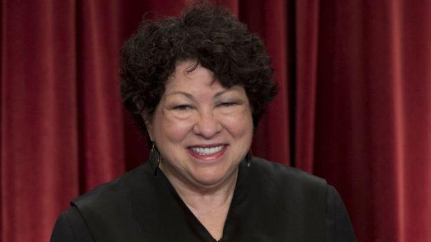 Sonia Sotomayor.