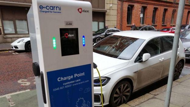 Car charging in Belfast