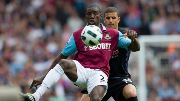 Demba Ba for West Ham United