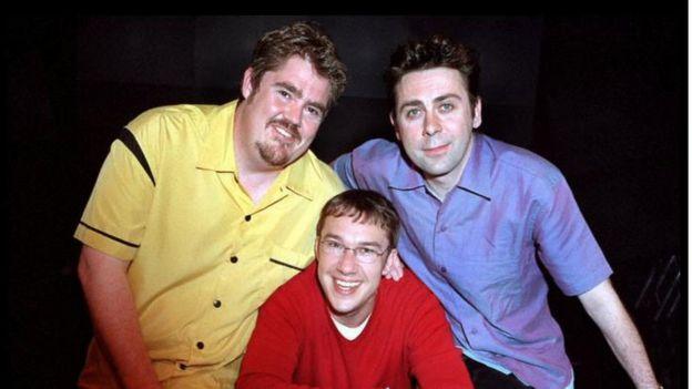 Phil Jupitus, Mark Lemarr and Sean Hughes