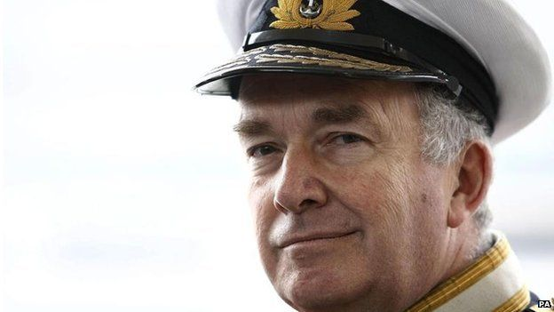 Former Navy chief Admiral Lord West
