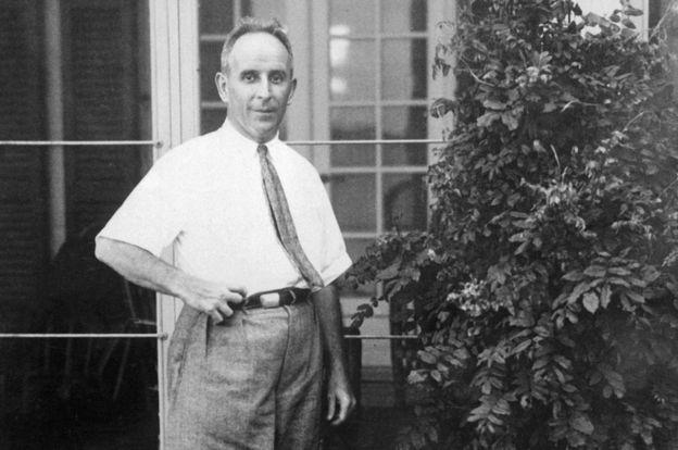 Джон Рэскоб в своем доме в штате Мэриленд