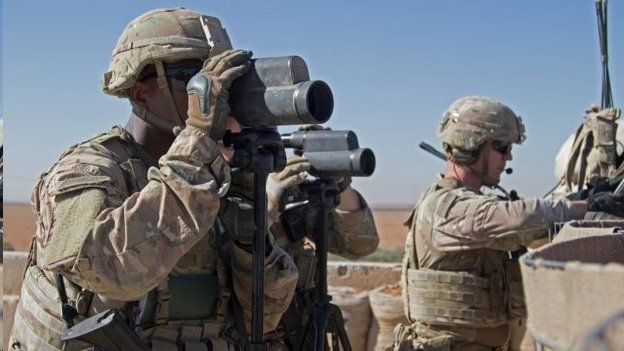 نیروهای زمینی آمریکا اولین بار در پاییز سال ۲۰۱۵ درگیر جنگ در سوریه شدند