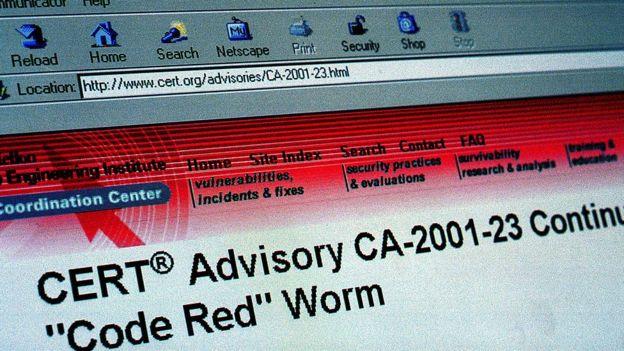 Code Red warning