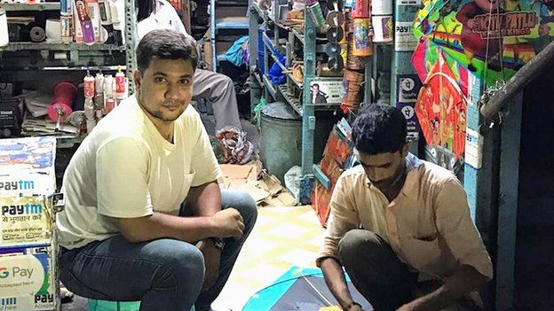 Mohammad Ahmed at his shop
