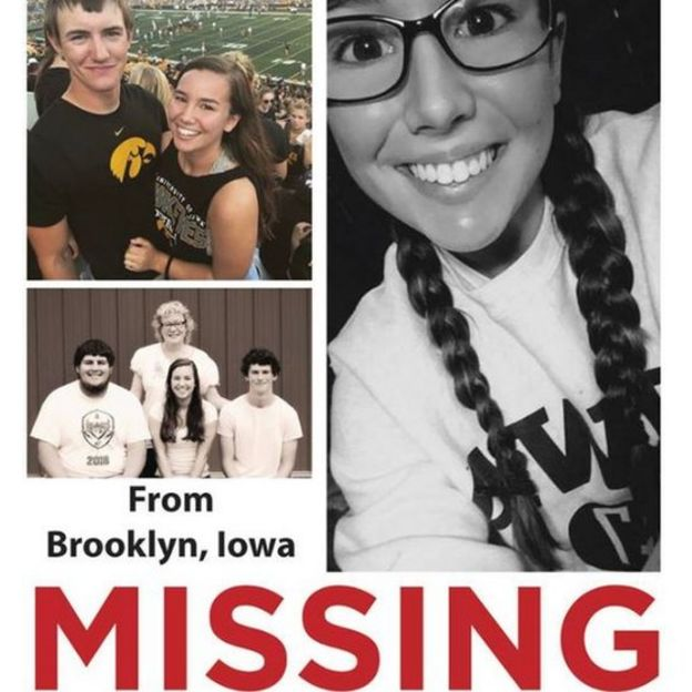 Mollie Tibbetts missing poster
