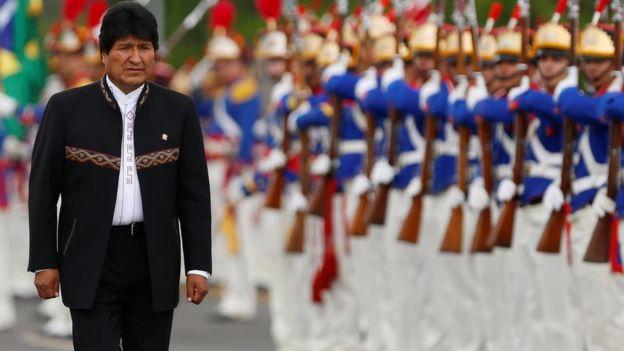 Evo Morales en una foto del 5 de diciembre.