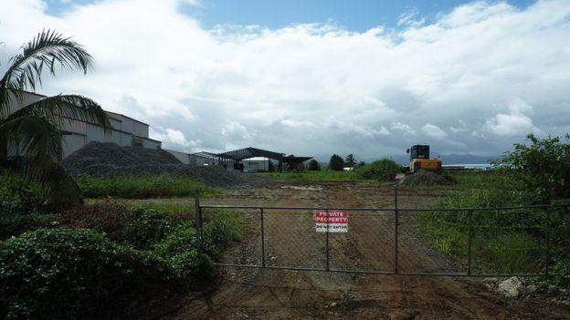 Una de las granjas de Grace Road en Fiyi