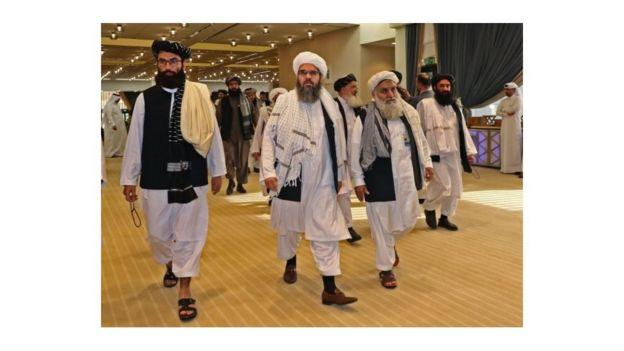 مذاکرات میان طالبان و آمریکا در قطر