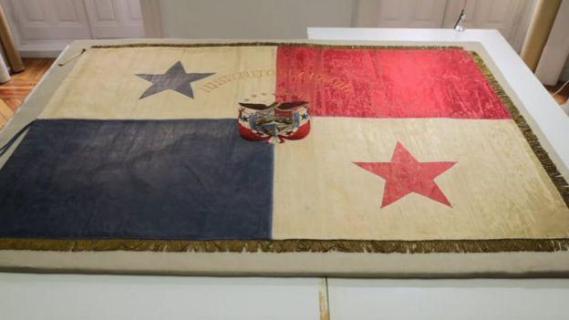 Bandera de Panamá del 9 de enero de 1964.