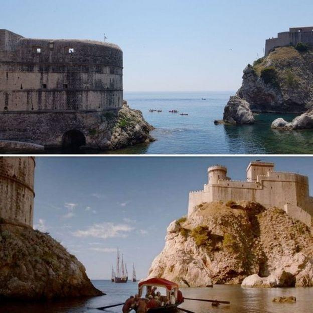 Baía de Dubrovnik