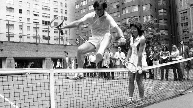 Billie Jean King y Bobby Riggs