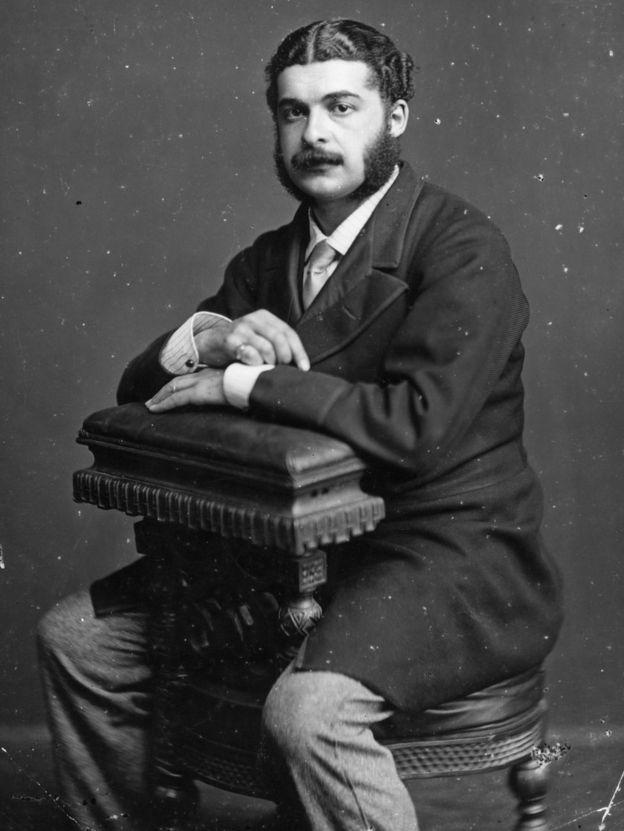 British composer Arthur Sullivan (Sir Arthur Seymour Sullivan, 1842 - 1900)