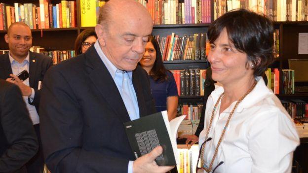 José Serra e Soninha no lançamento do livro