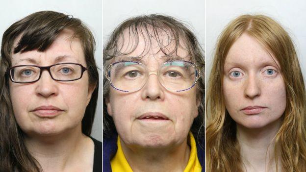 Dawn Cranston, 45, Denise Cranston, 70 and Abigail Burling, 25