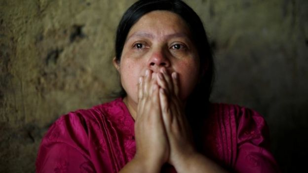 """The young people, elderly people, a lot of people are leaving because there are no jobs here,"" De León's mother told Reuters."