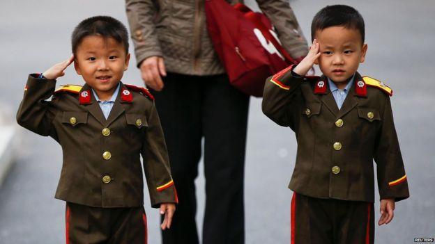 Salaanta ciidan ee caruurta North Korea
