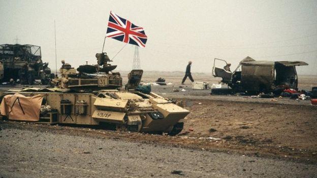 timeline iraq war bbc news