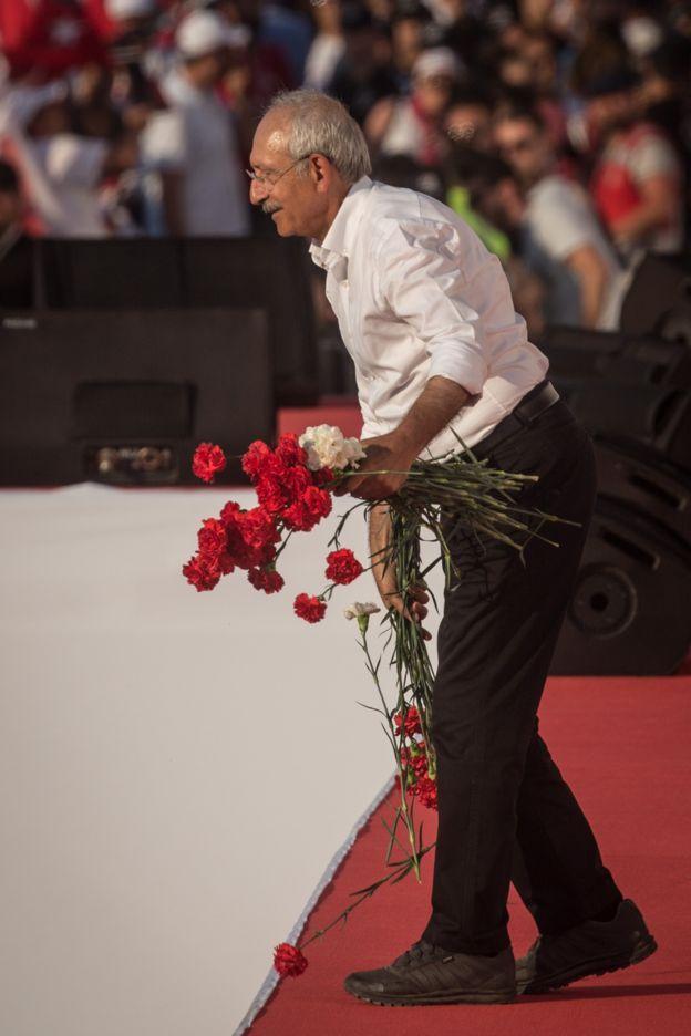 کمال قلیچدار اوغلو رهبر حزب جمهوری خواه خلق (CHP)