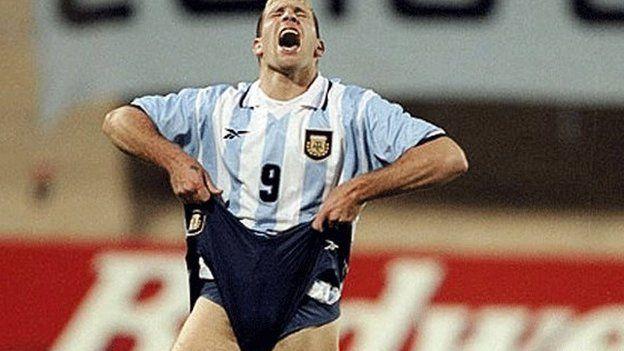 Palermo perde pênalti na Copa América de 1999