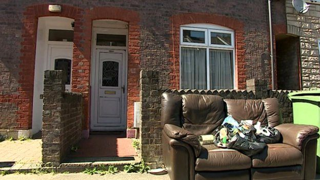 House in Luton of missing family