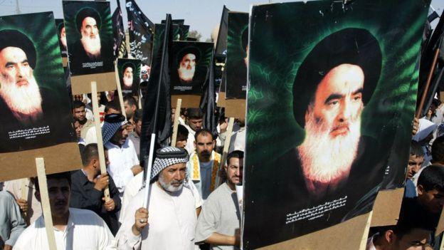 آیتالله سیستانی، مهمترین روحانی شیعه عراق است