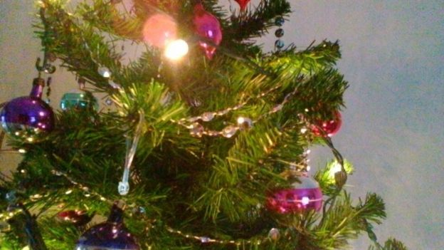 Phillips Christmas Lights.Tinsel Tales Decades Old Christmas Trees And Baubles Bbc News